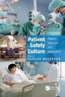 Patient Safety Culture PDF