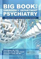 Big Book of Emergency Department Psychiatry PDF