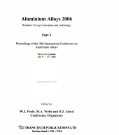 Aluminium Alloys 2006