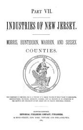 Industries of New Jersey: Morris, Hunterdon, Warren and Sussex counties