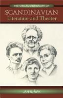 Historical Dictionary of Scandinavian Literature and Theater PDF