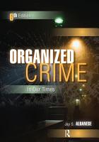 Organized Crime in Our Times PDF