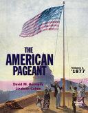 American Pageant  Volume 1 PDF