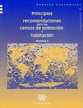 Principios Y Recomendaciones Para Los Censos de Poblacion Y Habitacion: Revision 2