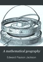A Mathematical Geography PDF