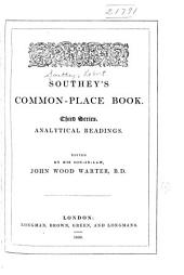 Southey's Common-place Book: Volume 3