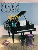Alfred's Basic Adult Piano Course - Lesson Book 3