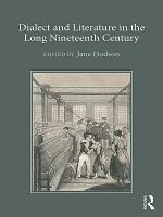 Dialect and Literature in the Long Nineteenth Century PDF