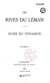 Les rives du Léman: guide du voyageur