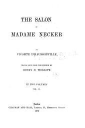 The Salon of Madame Necker: Volume 2