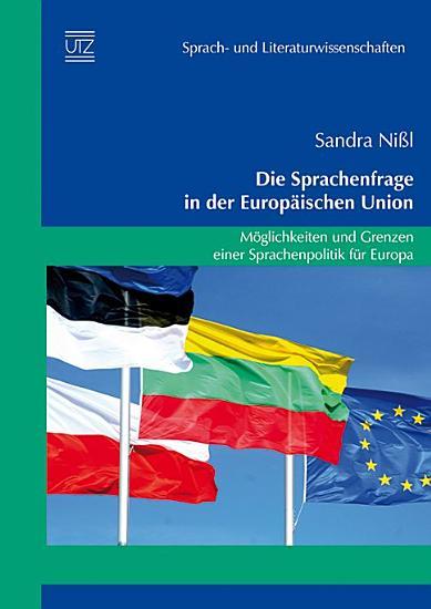 Die Sprachenfrage in der Europ  ischen Union PDF