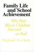 Family Life and School Achievement PDF