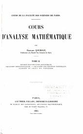 Cours d'analyse mathématique: Théorie des fonctions analytiques. Equations différentielles. Equations aux dérivées partielles. Eléments du calcul des variations