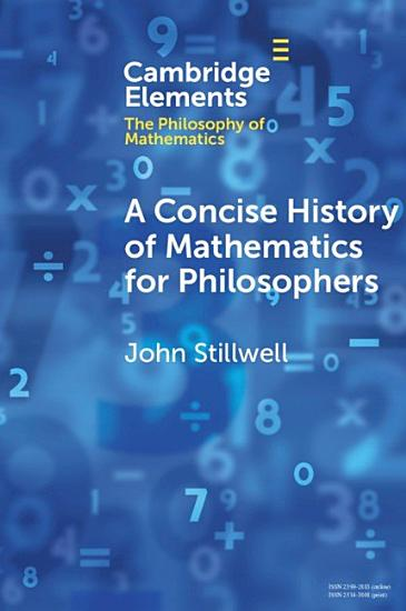 A Concise History of Mathematics for Philosophers   PDF