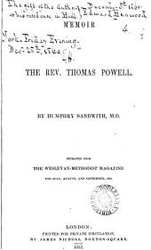 Memoir of the rev. Thomas Powell: Volume 4