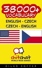 38000+ English - Czech Czech - English Vocabulary