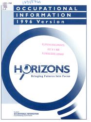 Occupational Information PDF
