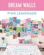 Dream Walls Collage Kit: Pink Lemonade