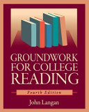 Groundwork for College Reading 4th