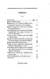 Histoire d'Hélène Gillet, ou, Relation d'un événement extraordinaire et tragique, survenu à Dijon dans le XVIIe siècle: suivie d'une notice sur des lettres de grace singulières, expédiées au XVe siècle, et sur quelques usages bizarres en matière criminelle