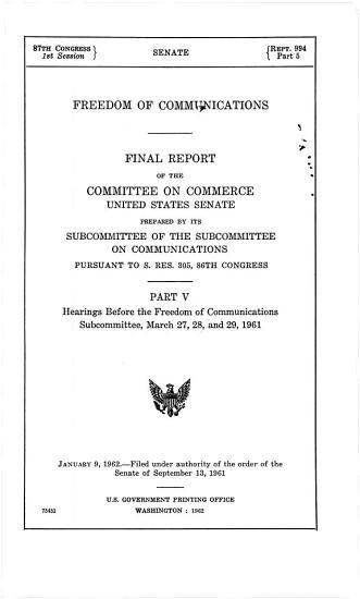 Freedom of Communications PDF