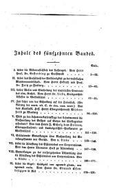 Zeitschrift für Civilrecht und Prozeß. Hrsg. von J(ustus) T(himotheus) B(althasar von) Linde, Th(eodor) G. L. Marezoll, J(ohann) N(epomuk) von Wening-Ingenheim: Band 15