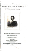 The Works of Lord Byron  in Verse and Prose  Including His Letters  Journals  Etc PDF