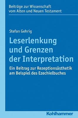 Leserlenkung und Grenzen der Interpretation PDF