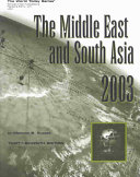 The Middle East and South Asia 2003