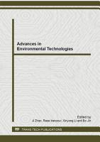 Advances in Environmental Technologies PDF