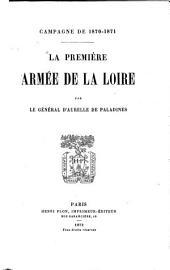 Campagne de 1870-1871: La première Armée de la Loire