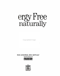 Allergy Free Naturally Book PDF