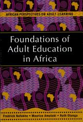 Foundations of Adult Education in Africa PDF