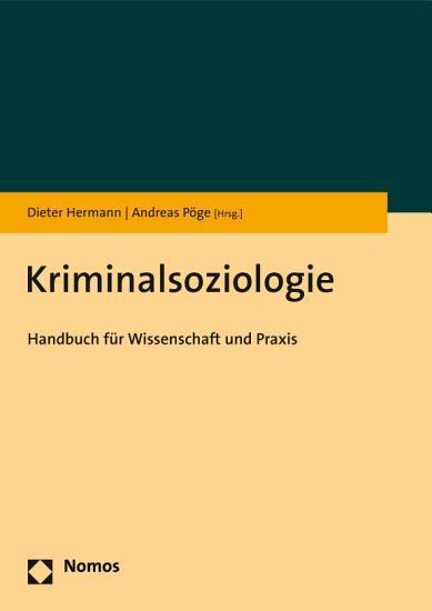 Kriminalsoziologie PDF