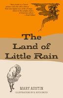 The Land of Little Rain (Warbler Classics)