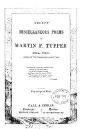 Select miscellaneous poems