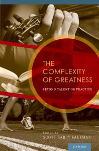 The Complexity of Greatness Book