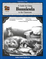 A Guide for Using Bunnicula in the Classroom PDF
