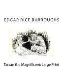 Tarzan the Magnificent: Large Print