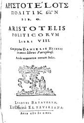 Politicorum Libri VIII.