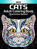 Cats Adult Coloring Book Quarantine Special