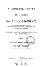 A historical account of the services of the 34th & 55th regiments