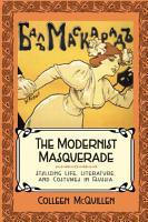 The Modernist Masquerade PDF