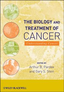 The Biology and Treatment of Cancer Book