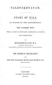 Nalopákhyánam: Story of Nala