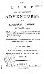 The Life and Most Surprizing Adventures of Robinson Crusoe