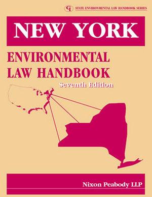 New York Environmental Law Handbook PDF