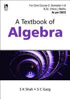 A Textbook of Algebra PDF