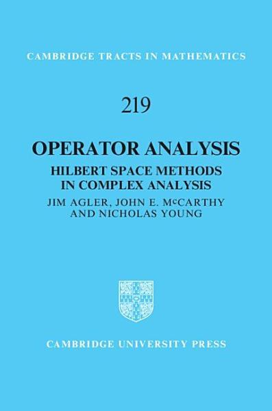 Download Operator Analysis Book