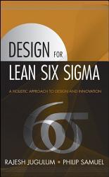 Design For Lean Six Sigma Book PDF